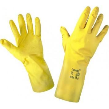 Домакински гумени ръкавици - S, M, L, XL