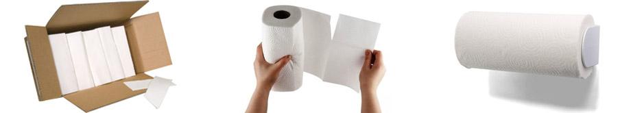 Хартиени кърпи и ролки за ръце